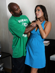 Cocksucking latina mom Reena Sky prefer big black dicks