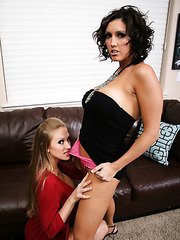 Abby Rode and Dylan Ryder playing in lesbian games and having lots of fun