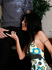 Prodigios wife Tabitha Stevens making a titjob in POV style and getting pleased