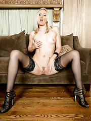 Flawless chick Angel Long demonstrates tiny tits and marvelous vagina