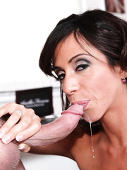 Ariella Ferrera went on a casting to suck big cocks and get cumshots