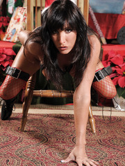 Exciting dark haired milf Lezley Zen makes us wild in fantastic solo scene