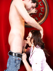 Dark haired Inari Vachs gets fucked passionately in her delicious anal