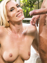 Darryl Hanah looks amazing getting big cock in every hole of her body