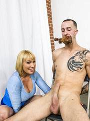 Wild milf with big tits Mellanie Monroe enjoy titty cumshot after hard fuck
