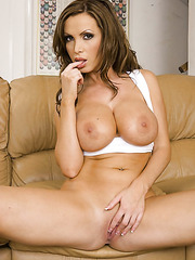 Glamorous beauty by fantastic milf Nikki Benz and her perfect big tits