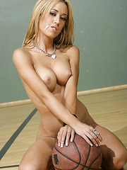 Big titted blonde Capri Cavanni gets fucked by hot basketball team captain