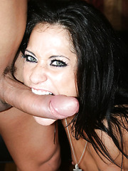 Young brunette milf Cassidey is ready for a crazy fuck with an amazing blowjob