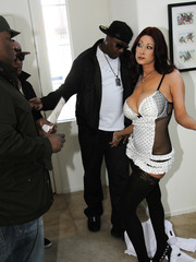 Black guy fuckeng hard hot milf Tiffany Mynx in sexy lingerie