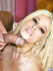 Gina Lynn opens her gentle mouth and gives an incredible blowjob