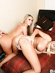 Great threesome fuck with hot girls named Nikki Benz and Puma Swede