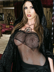 Model-quality big tits in the action by Angelina Valentine, Carmella Bing and Nikki Benz