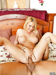Krissy Lynn knows how to satisfy big cock with her wet holes