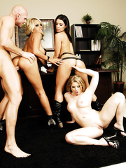Dream group sex with three fascinating bombshells Ann Marie Rios, Briana Blair and Sunny Lane
