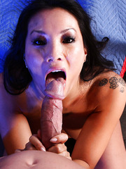 Smoking hot Asian babe Asa Akira hot a hardcore dick in her sweet holes