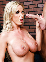 Super hot and buxom firefighter Nikki Benz got a huge prize for her curious work