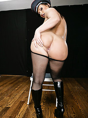 Prisoner with amazing big tits Katja Kassin is too hot to be at liberty