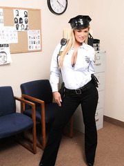 Local security firm has a lot of such busty and voluptuous babes as Shyla Stylez