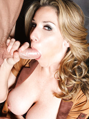 Gorgeous lady with great body Kayla Paige in sexy safari uniform gets pounded by bad boy