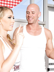 Amazing milf with great breast Kagney Linn Karter gets her defiant dreams realized