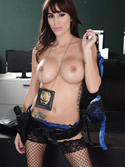 Amazing and dirty scene with a beautiful brunette chick Gia Dimarco