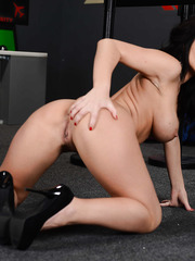 Beautiful action with a gorgeous brunette milf named Jayden Jaymes