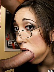 Hardcore threesome action with pretty whores named Leone Dulce and Nadia Styles