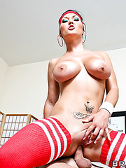 Hardcore and hot foursome fuck with Claire Dames, Kelly Divine and Ricki White