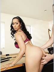 Elegant pornstar Isis Love gets naughty and pleases her lovely husband
