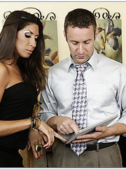 Carnal bitch Kayla Carrera knows how to make her husband fully satisfied
