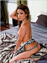 Spoiled wife Melanie Rios enjoys getting naughty with good looking fellows