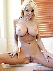 Superb milf with big tits Danielle Derek fucking in sexy lingerie