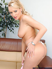 Cumshot action featuring busty milf pornstar Diana Doll and her lover