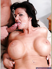 Sweet mature slut Deauxma is having her pussy licked and fucked