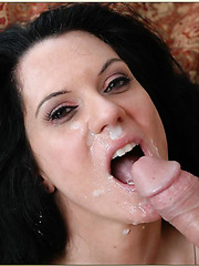 Hardcore pussy licking action with busty milf Elle Cee and her lover