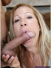 Hardcore anal fuck with gorgeous blonde milf Kimmie Morr and her man