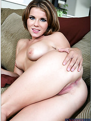 Wonderful milf chicks Amanda Blue and Megan Monroe taking part in a threesome