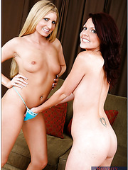 La'Rin Lane and her milf girlfriend Shayne Ryder are taking part in a threesome