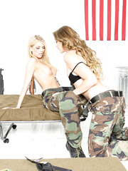 Hardcore and hot lesbian action with a gentle blonde Jana Jordan and Jessie Andrews