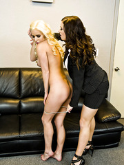 Awesome lesbian sction with a passionate milf named Spencer Scott and Taylor Vixen
