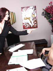 Anal sex with an awesome brunette milf Tiffany Mynx that has big boobies
