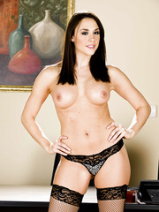 Dick-loving babes Chanel Preston and Lexi Swallow are posing naked