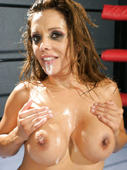 Wild chick Francesca Le playing hard with her friend and getting a cumshot