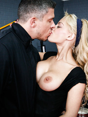 Gentle minx Loulou doing awesome things and getting penetrated hard