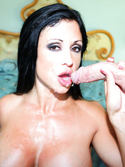 Curious chick Jewels Jade playing with her neighbor and making him a blowjob