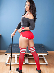 Pretty milf with innocent eyes and seductively hot body Sophia Fiore