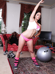 Hardcore interracial anal adventure with hot milf Liza Del Sierra and black cock