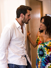 Gorgeous milf Aleksa Nicole achieves a lot of unforgettable pleasure during this anal pounding