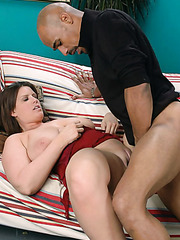 Lisa Sparxxx is a fatty milf with giant boobs and always shaved pussy