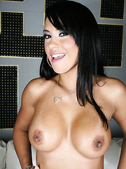 Amazing housewife Mariah Milano surprises with her sexy lingerie and great big boobs